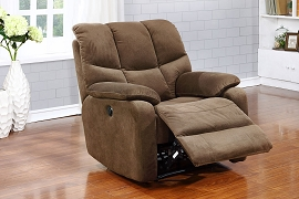 Power Recliner Chair- Browm
