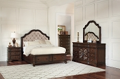 Ilana Storage Bed with Upholstered Headboard