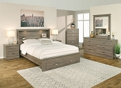 Queen Chest Bed- color option