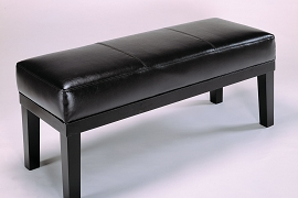 Espresso Finish Bench