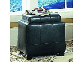 1 Tray Table Ottoman