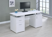 White Computer Desk ( out of stock ) call store for eta