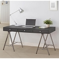 Slim Writing Desk with A-Frame Legs