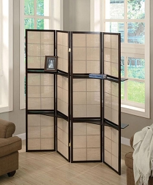 Cappuccino Finish Room Divider