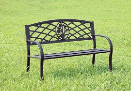 Minot Patio Bench OUT OF STOCK TILL 08/09/20