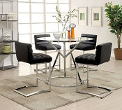 5 Pcs Livada II Dining Table- black or white