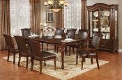 7 Pcs Traditional Style Dining Set