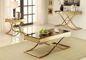 Sundance Brass Finish Coffee Table