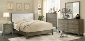 Enrico I Bed Grey Bed Frame