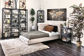 Merope Twin Button Tufted Bed