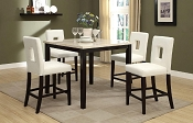 5 Pcs Counter Height Dining Set