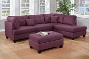 3 Pcs Linen Sectional- color option