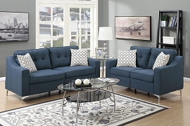 2 Pcs Modern Sofa Set - color option
