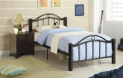 Black Metal Bed Frame (Discontinued)