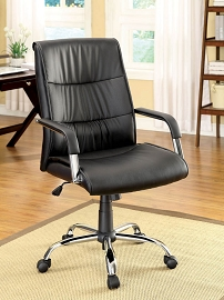 Elegant Faux Leather Office Chair