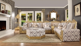 Antique Style Sectional
