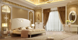 Luxury King Bed Frame