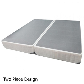 King Box Spring Foundation Splits (Pair) by EZ 2 Get Furniture