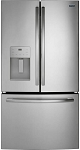 25.6 Cu. Ft. Stainless Steel French Door  Refrigerator
