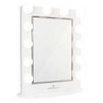 HOLLYWOOD REVEAL® VANITY MIRROR WITH CABINET STORAGE