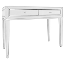 CHARLOTTE PREMIUM MIRRORED VANITY TABLE
