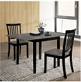 Evie 3 pcs Dining Table Set