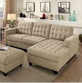NORMA SECTIONAL W/ OTTOMAN