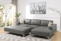 2-PCS Sectional Sofa Set - F6429