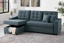 Convertible Sectional (compact) - select color option