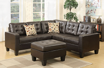 4pc Sectional with Ottoman - color options