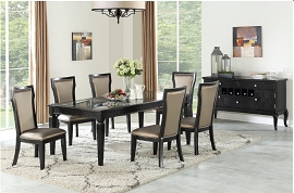 7 Pcs Dining Set