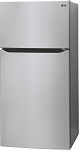 24 Cu. Ft. LG Traditional Style Refrigerator in Stainless Steel