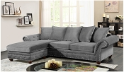 Plymouth Sofa Gun Metal