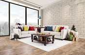 TRALEE - 2PC Voguish Sofa Set