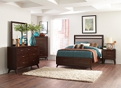 Carrington Upholstered Bed with Storage