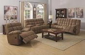 2 Pcs Pickett Recliner Sofa Set