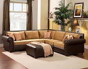 Brown Modern Sectional