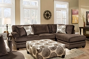 Groovy Champion Sectional- Tan or Brown