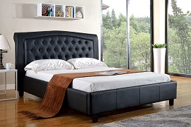 Platform Bed-Black or White