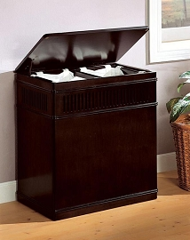Cappuccino Finish Laundry Hamper