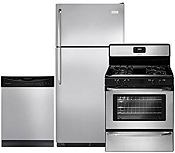 Frigidaire 3Pcs Stainless Steel Kitchen Package