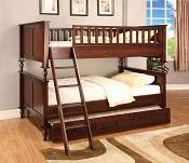Brown Cherry Bunk Bed