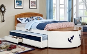 Voyager Captain Twin Bed Frame