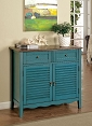 Teal Country Style Teal Cabinet