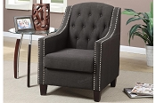 Ash Black Accent Chair