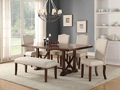 Uphostered Cushion Formal Dining Set