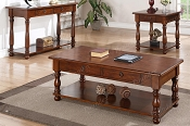 Oak Antique Style Wooden Coffee Table