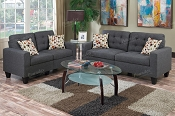 2 Pcs Affortable Sofa Set- color option