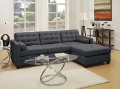 2 Pcs Slate Sectional Sofa Set