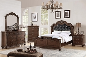 Traditional Tufted Bed Frame - color option